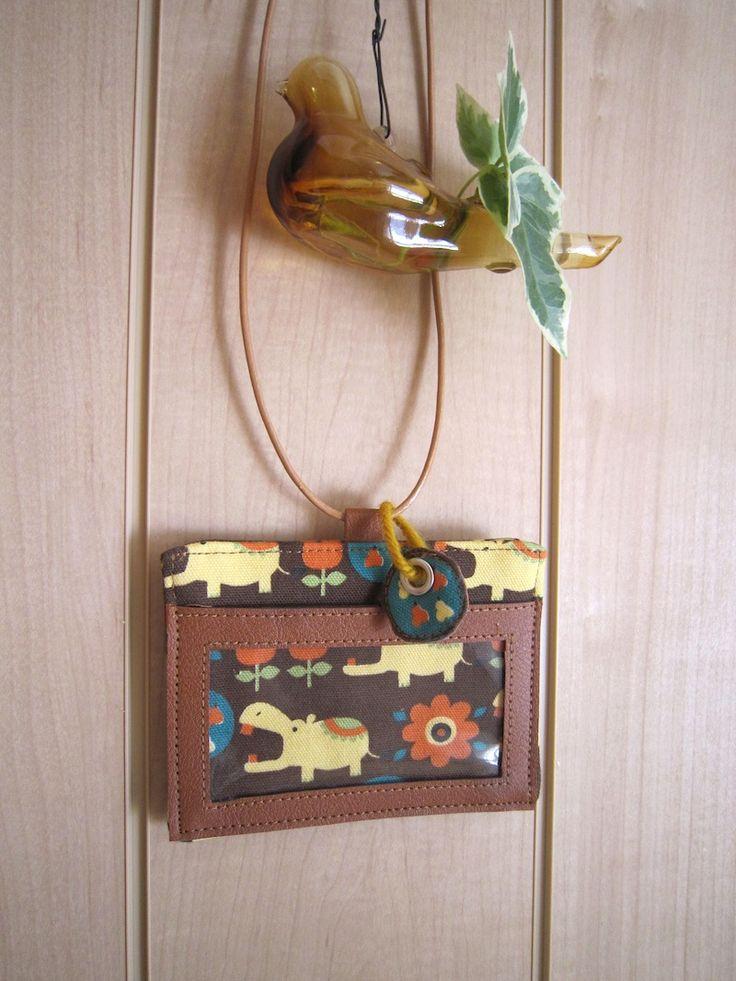 布+革で作るカードホルダー | コッカファブリック・ドットコム|布から始まる楽しい暮らし|kokka-fabric.com