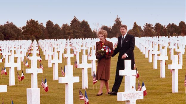 D-Day anniversary | Reagan Speaks on 40th Anniversary of D-Day