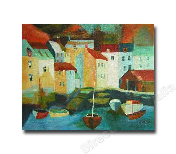Direct Art Australia - Five Boats | Cheap Art Prints? REAL Paintings, $199.00 (http://www.directartaustralia.com.au/five-boats-cheap-art-prints-real-paintings/)
