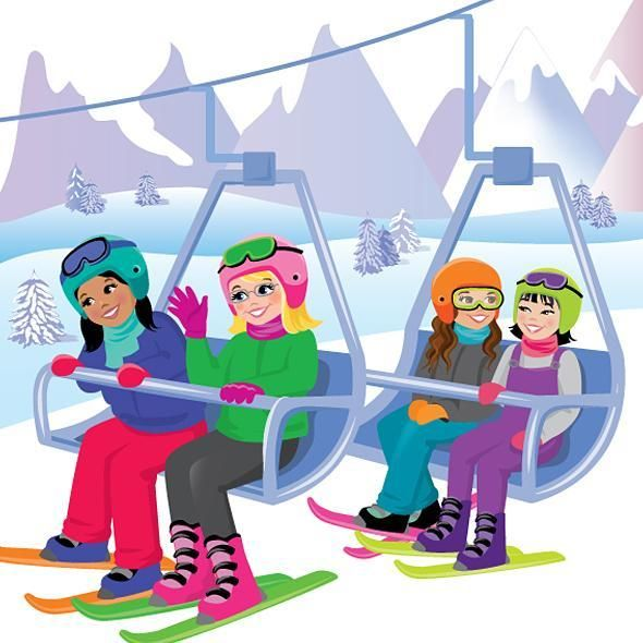 Ski Lift - Karen Wolcott