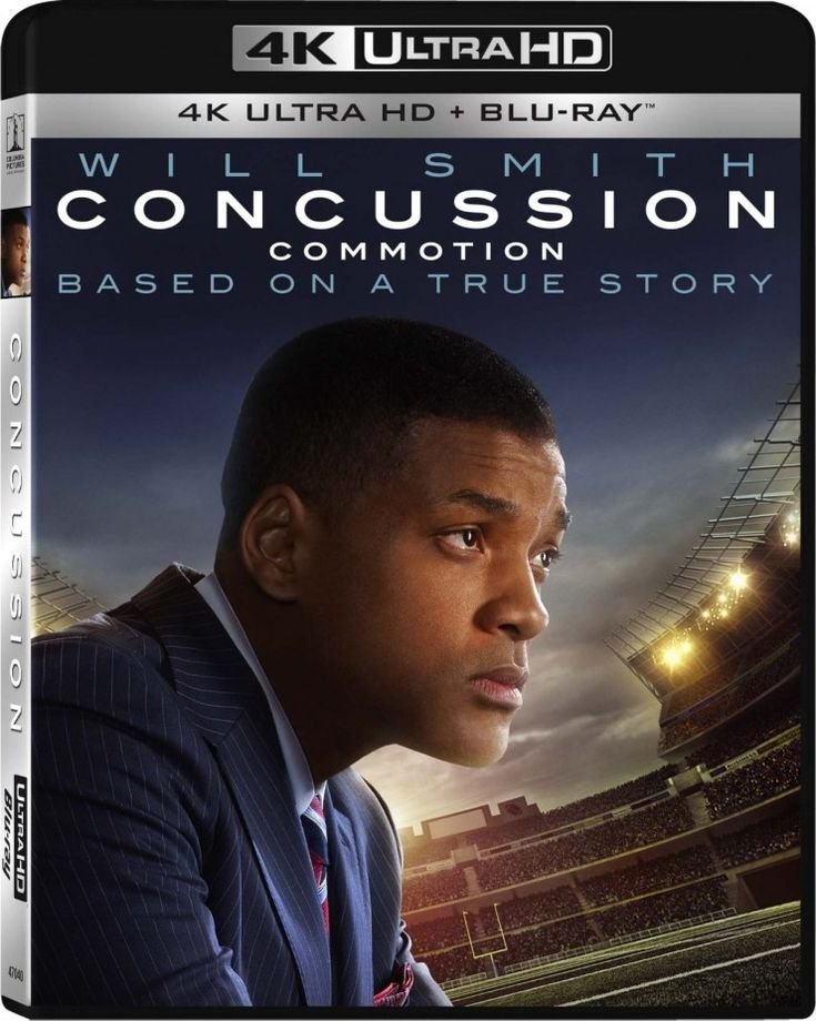 """Sony launching """"Concussion"""", with Will Smith as their first 4K UHD Blu-ray new-release feature film"""