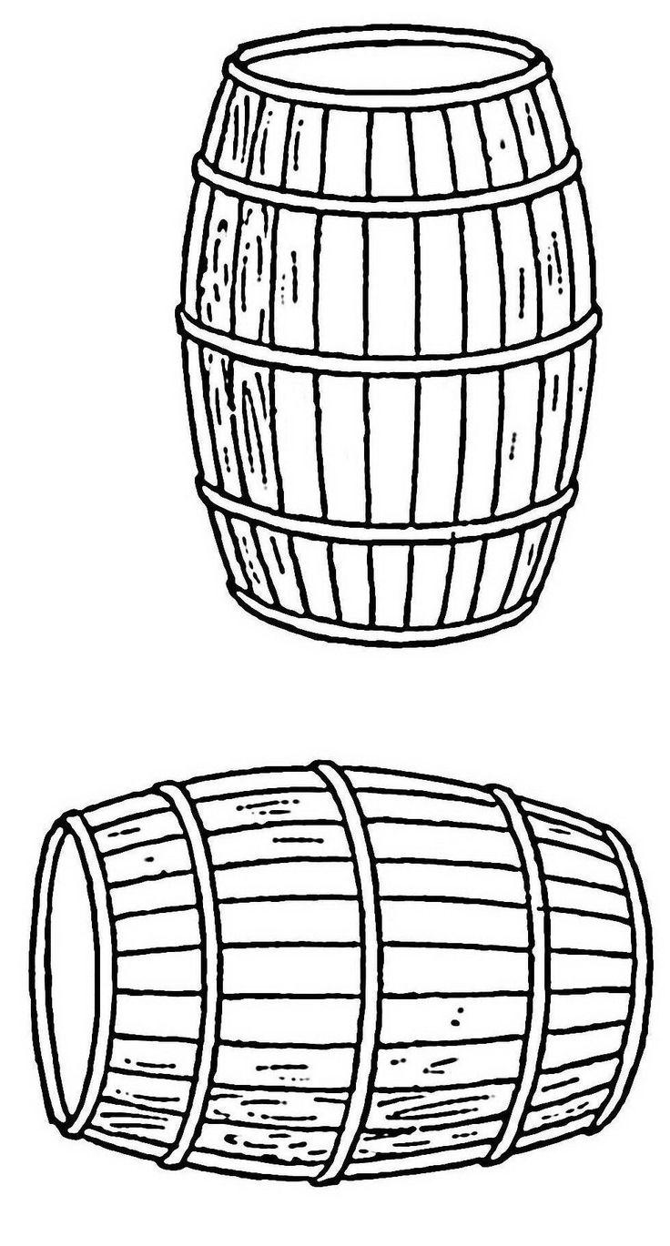 botte di vino DA COLORARE   Disegni da colorare che potrebbero interessarti