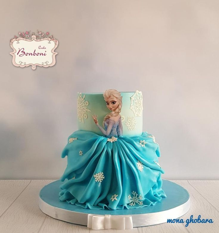 Frozen By Bonboni Cake In 2019 Elsa Birthday Cake