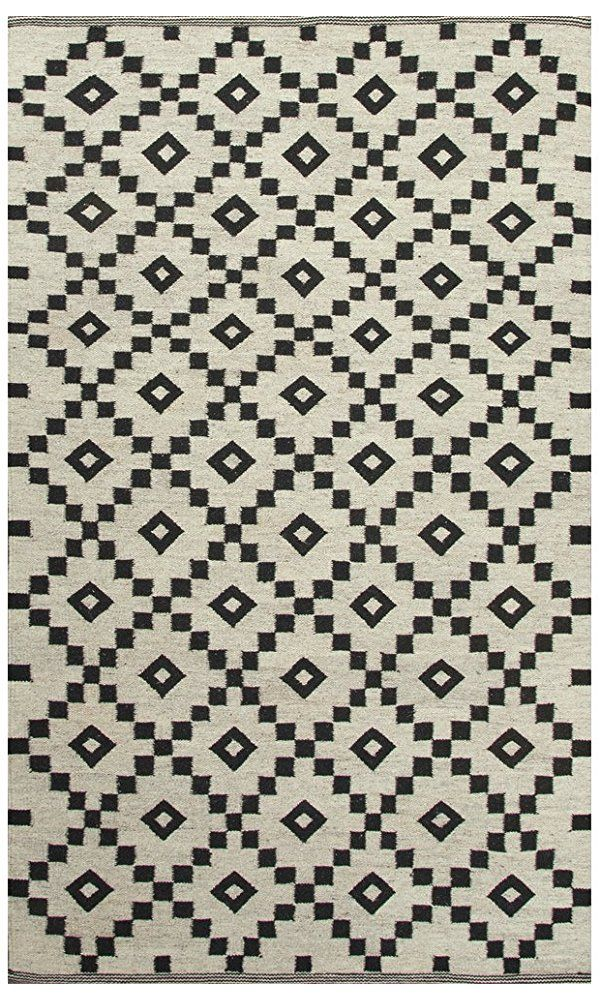 Jaipur Living Croix Reversible Flatweave Tribal White Area Rug (4' X 4') Best Price