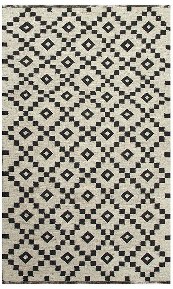 Jaipur Living Croix Reversible Flatweave Tribal White Area Rug (4' X 4') Best Price