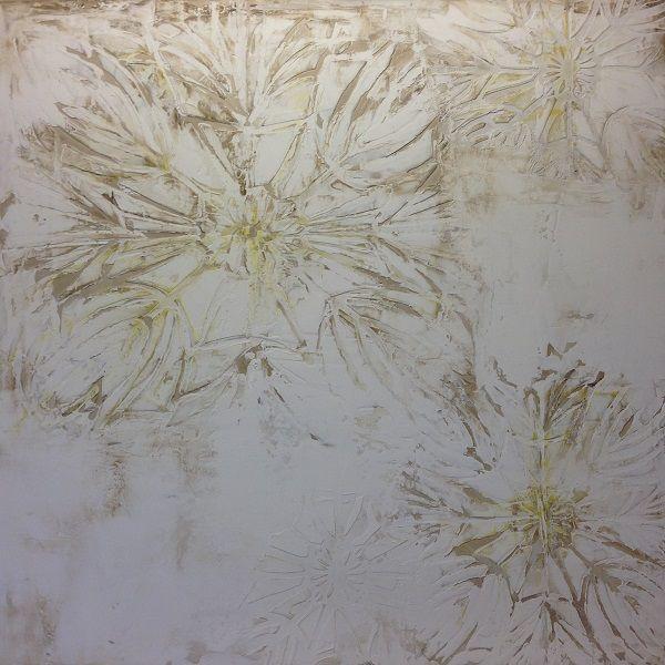 Papyrus  colour Natural with citrus size 1200mm x 1200mm