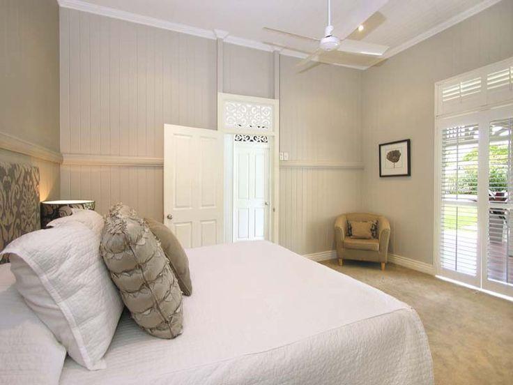 Bedrooms in the cottage part - The original Queenslander has become bedrooms