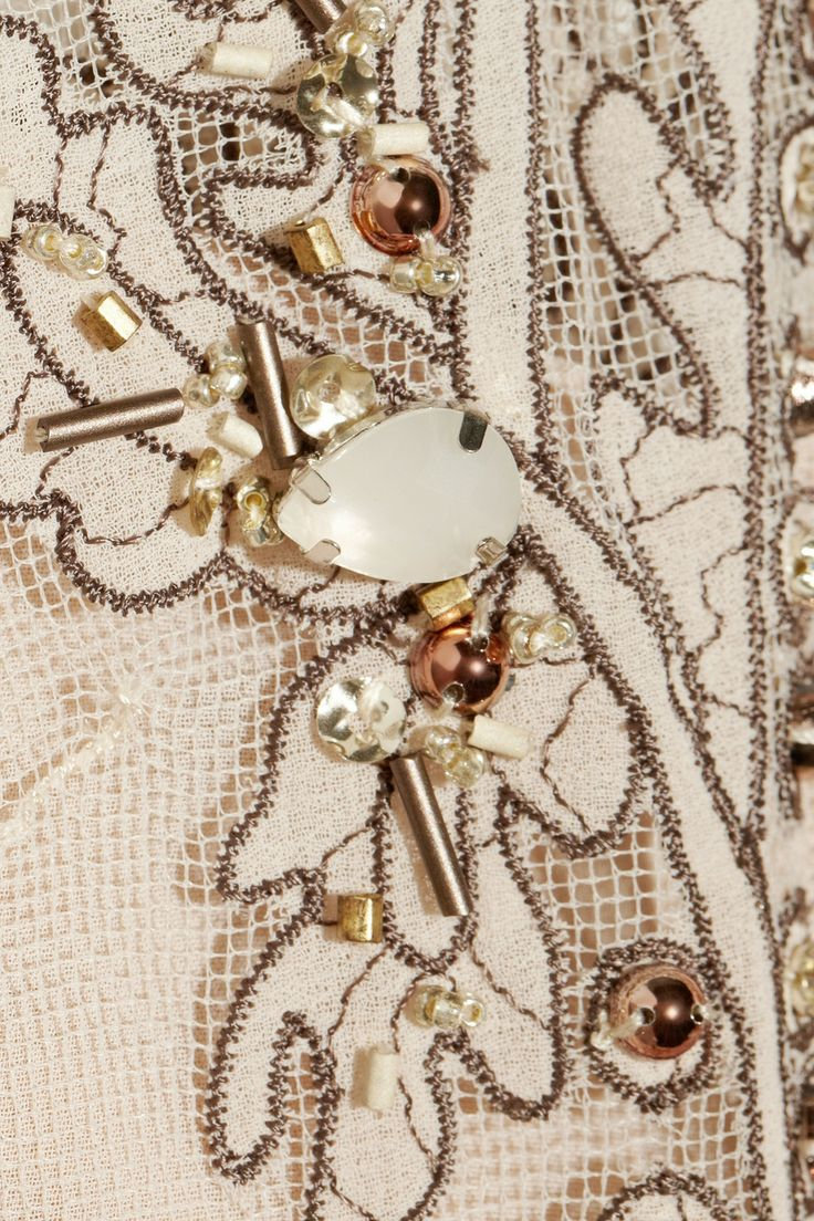 Biyan|Iris embellished tulle gown|NET-A-PORTER.COM
