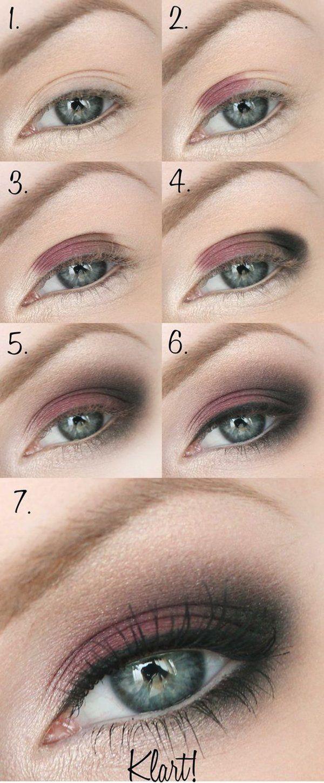 Die besten Eye Makeup Tutorials auf Pinterest: Schritt für Schritt! – heypretty.ch – Schminken
