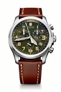 Pánske Hodinky Infantry Vintage Chrono 241287 Swiss-made quartzový strojček ETA 251.272, chronograf s presnosťou merania na 1/10 sekundy, telemetrická stupnica, priemer: ø 44 mm