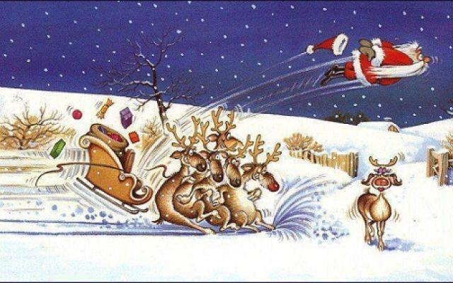 """Filastrocca delle renne di Babbo Natale, riletta e rivista in chiave umoristica E' possibile dissacrare una innocente poesia per bambini su Babbo Natale e le sue renne? Certo, se condita da un commento cinico e rinnegato! L'articolo propone la simpatica versione della """"Filastroc #poesia #renne #babbonatale #filastrocca"""