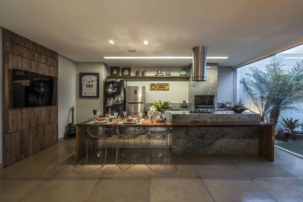 O apartamento de Leandro Donizete em Belo Horizonte