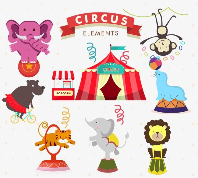 Vector Animals Animal Circus Vector Png Transparent Clipart Image And Psd File For Free Download Vector Animals Animals Png Vector Png