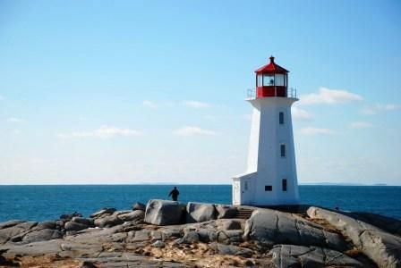 Peggy's Cove in Nova Scotia in spring was a special experience. See blog story@ www.travelguy.ca