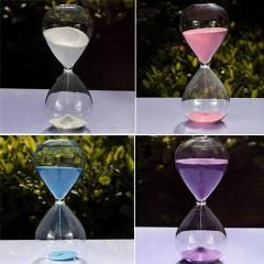 [ 20% OFF ] Colors! 60Min Sand Glass Sandglass Hourglass Timer Clock Time Decor Unique Gift