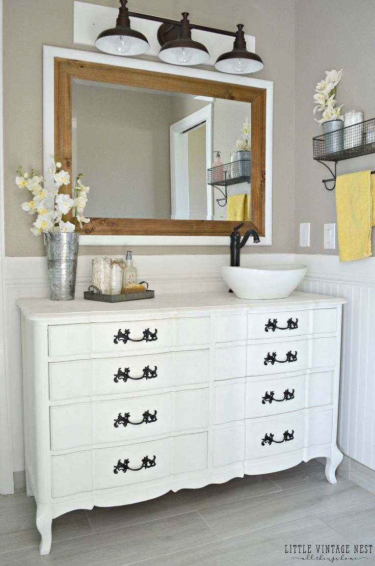 Best 25 Dresser to vanity ideas only on Pinterest Dresser