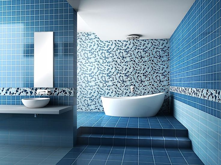 17 Best Ideas About Blue Bathroom Interior On Pinterest
