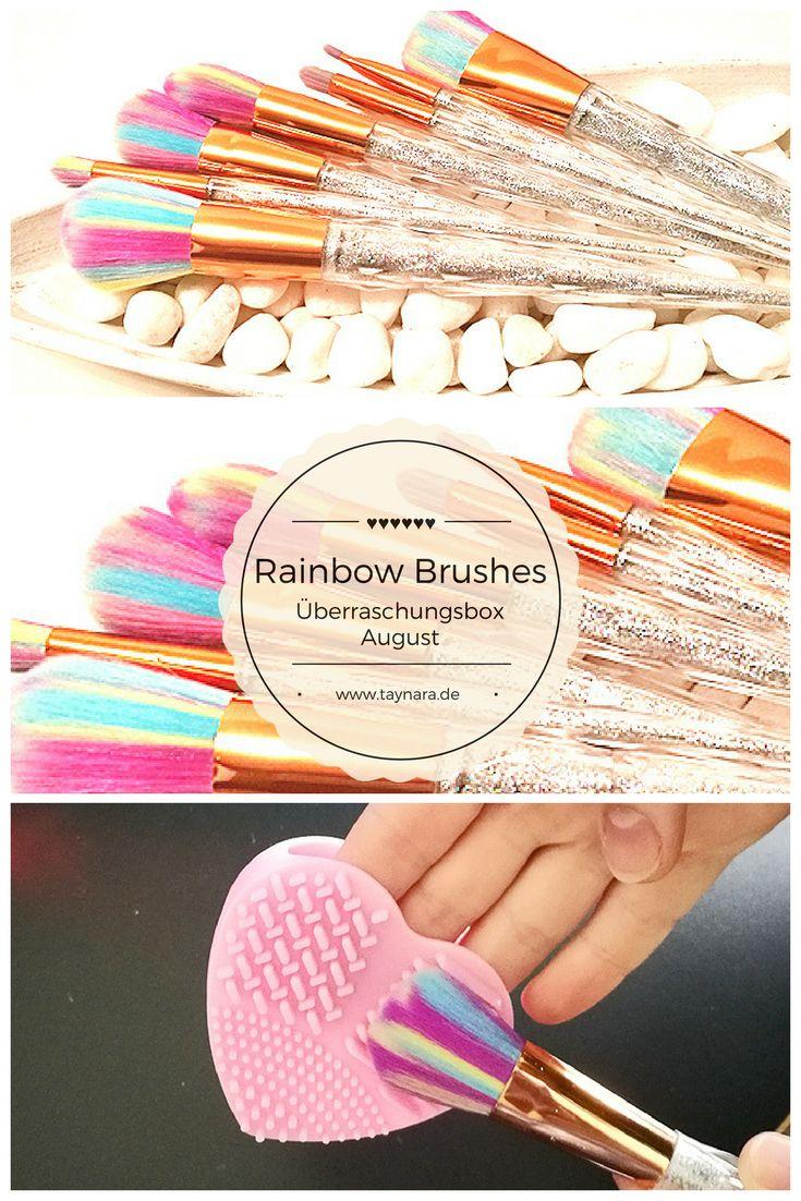 Das Pinselset besteht aus 7 verschiedenen Regenbogen-Pinsel, die für einen farbenfrohen Start in den Tag sorgen. Sie eignen sich ideal für das tägliche Make-Up. Ob Rouge, Eyeshadow oder die Augenbrauen nachzeichnen. Dank der verschiedenen Größen ist das gesamte Make-Up kein Problem!