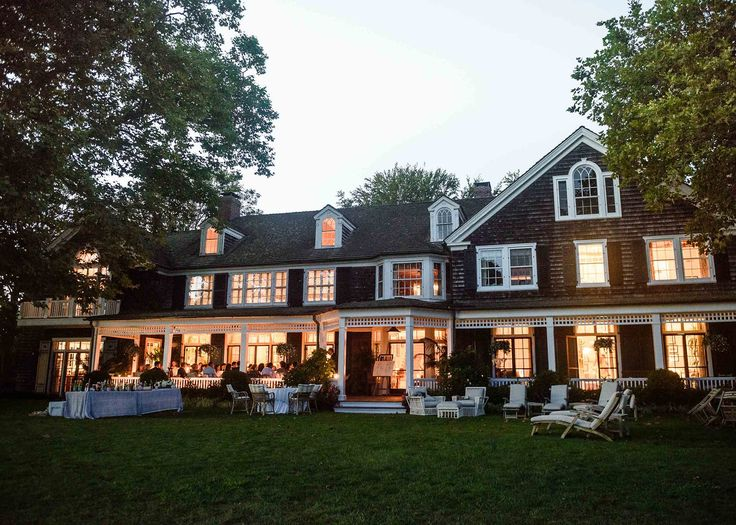 The setting for both the rehearsal dinner and the wedding was Maxi's family property in East Hampton. Maxi's mother and stepfather have created such a unique and inviting home there, where we have spent so much time over the course of our relationship. It only felt fitting that we hold the festivities someplace so close to our hearts.
