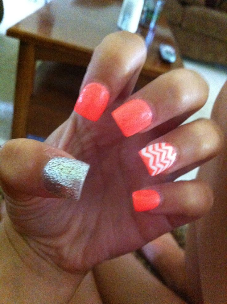 Cute acrylic nails | Nails | Pinterest | Acrylics, Makeup ...