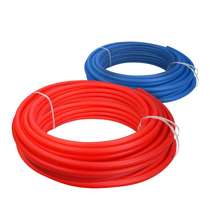 1/2 in. x 500 ft. PEX Tubing Potable Water Pipe Combo - 1 Red, 1 Blue, Red/Blue
