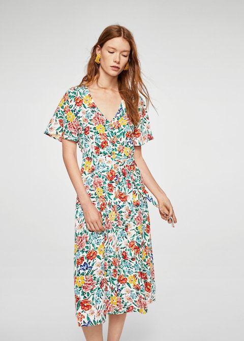 d7ff1c939698 Blommigt tryck klänning - Damer | Habegär | Blommor y Klänningar