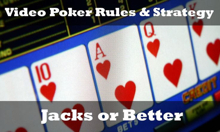 ♠️Jacks or Better Rules & Strategy♣️ http://www.gamesandcasino.com/video-poker/strategy/jacks-better.htm #jacks #better #video #poker #strategy