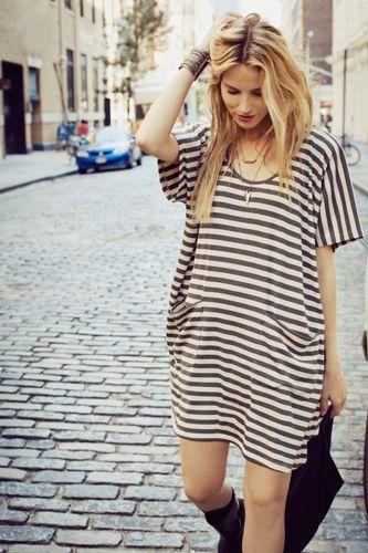 Little stripes dress