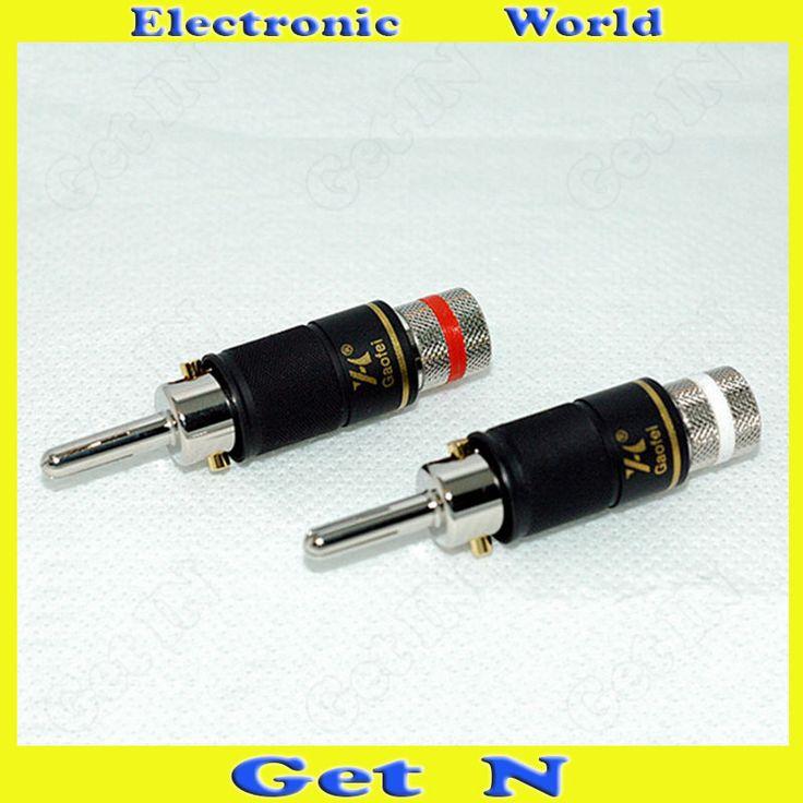 $295.10 (Buy here: https://alitems.com/g/1e8d114494ebda23ff8b16525dc3e8/?i=5&ulp=https%3A%2F%2Fwww.aliexpress.com%2Fitem%2F20pcs-Gaofei-Rhodium-Plated-Banana-Connectors-Locking-Audio-Banana-Plug-Jack-New-Original-Banana-Socket%2F1000001296078.html ) 20pcs Gaofei Rhodium Plated Banana Connectors Locking Audio Banana Plug/Jack New Original Banana Socket for just $295.10