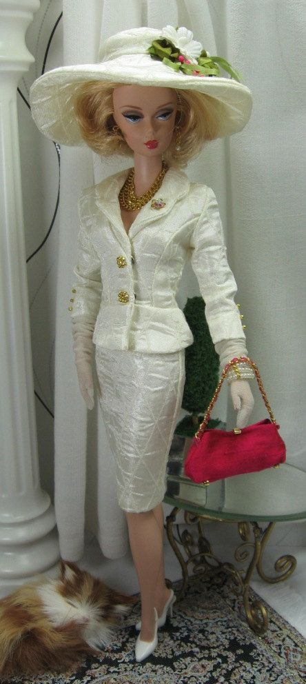 Harlequin Romance for Silkstone Barbie and by MatisseFashions, $65.00