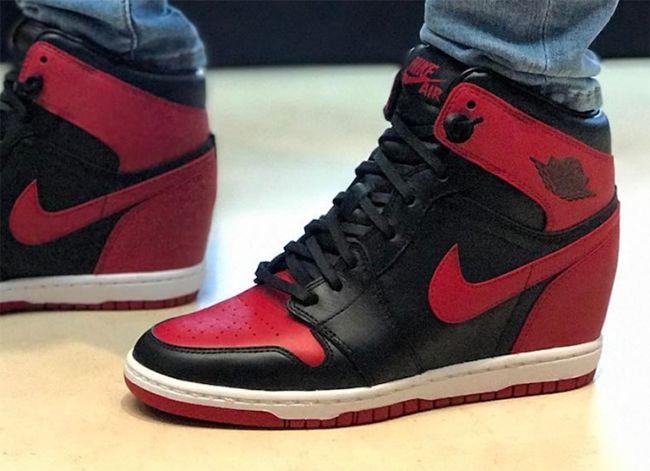 http://SneakersCartel.com Air Jordan 1 Wedge 'Banned' Showcased by Michael Jordan's Wife #sneakers #shoes #kicks #jordan #lebron #nba #nike #adidas #reebok #airjordan #sneakerhead #fashion #sneakerscartel https://www.sneakerscartel.com/air-jordan-1-wedge-banned-showcased-by-michael-jordans-wife/