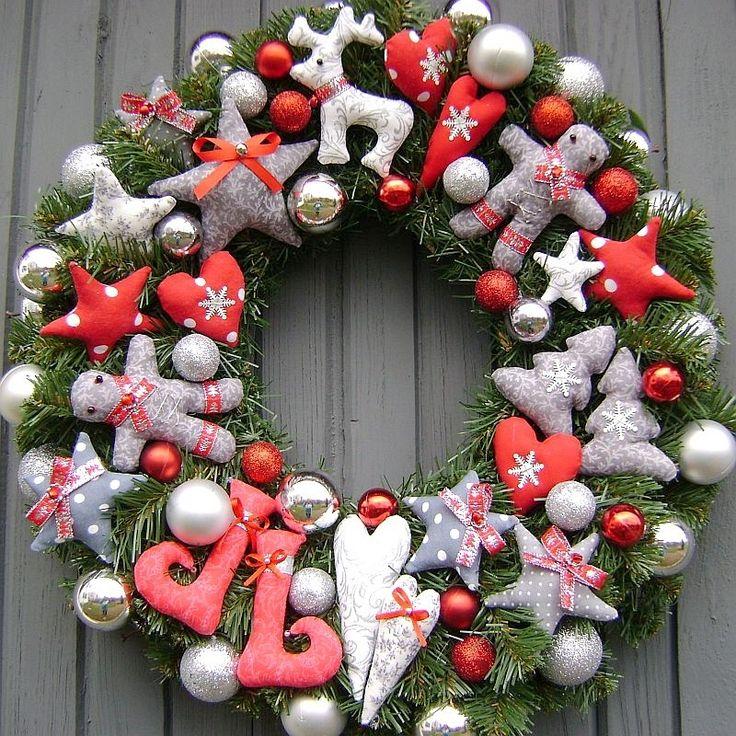 vianočný veniec po druhé