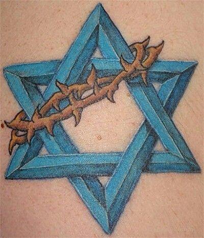 Star Of David Tatt