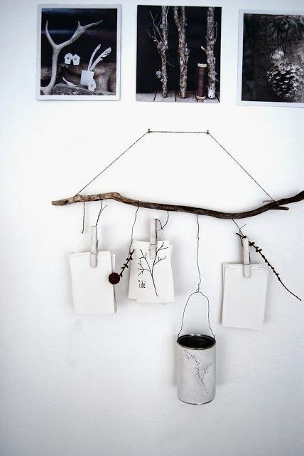 DIY projects ideas with branches