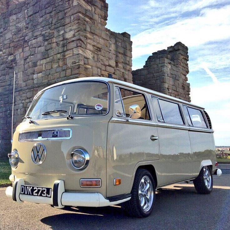 Our restored 1971 VW Early Bay Sunroof Deluxe 7 seater microbus.