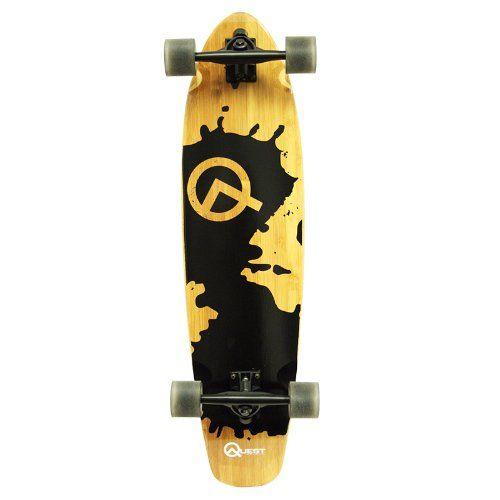 Quest Rorshack Bamboo Longboard Skateboard (34-Inch) Quest,http://www.amazon.com/dp/B008EZNXHA/ref=cm_sw_r_pi_dp_qZ1ntb07VJDJ7H9N