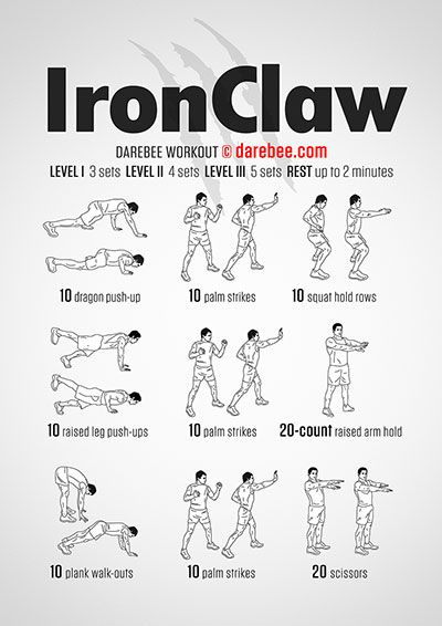 Iron Claw Workout