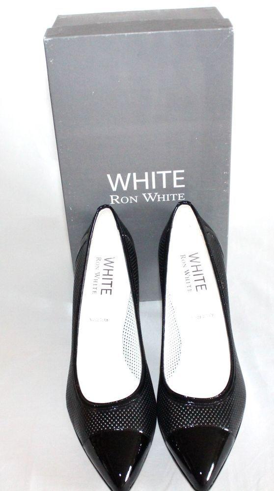 White Ron White Women Shoes Size 8  #WhiteRonWhite #PumpsClassics