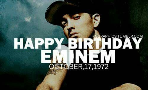 Eminem Birthday