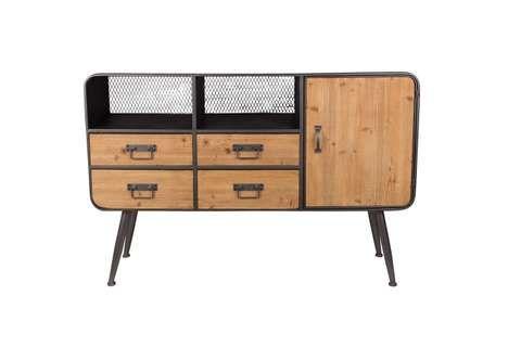 Kasten Loods 5 Huisje Sideboard Armoire Cabinet