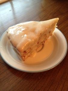 Mary Todd Lincoln's Vanilla Almond Cake