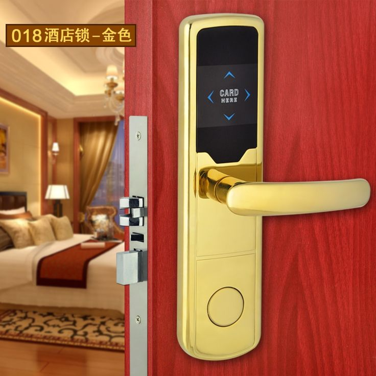 36.00$  Watch now  - Electronic Standalone Smart RFID Card Hotel Door Lock Control System