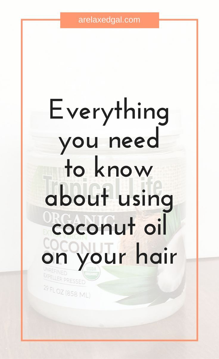 Curious about coconut oil? Should you use coconut oil on your hair? How can you use coconut oil on your? Why should you use coconut oil on your hair? Check out this post for everything you need to know about using coconut oil on your relaxed or natural ha