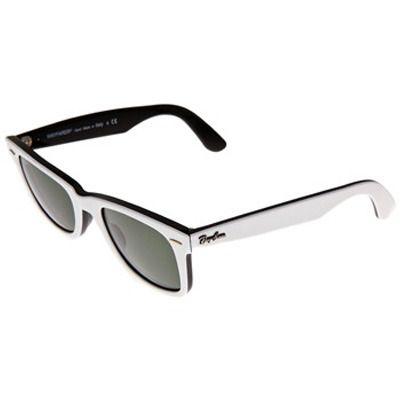 Black  White jusqu'au bout des lunettes !Lunettes bicolores Wayfarer - Ray-Ban