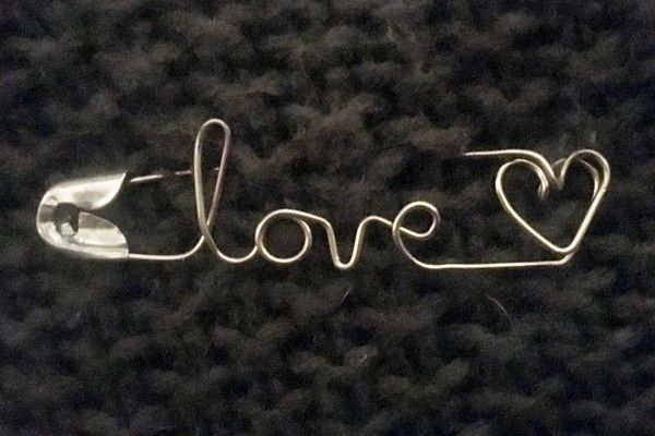 Love Wins - Beautiful Safety Pin Jewelry to Show Your Solidarity - Photos