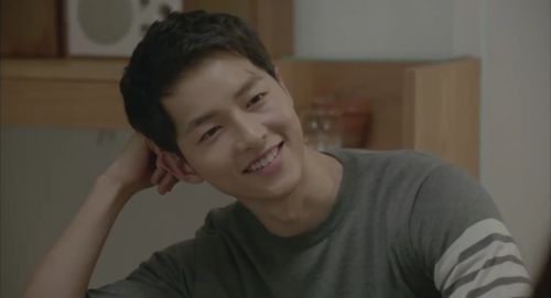 Imagine descendants of the sun, kdrama, and song joong ki