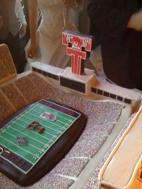 Texas Tech Stadium Groom's Cake #TTAA #SupportTradition #TexasTech
