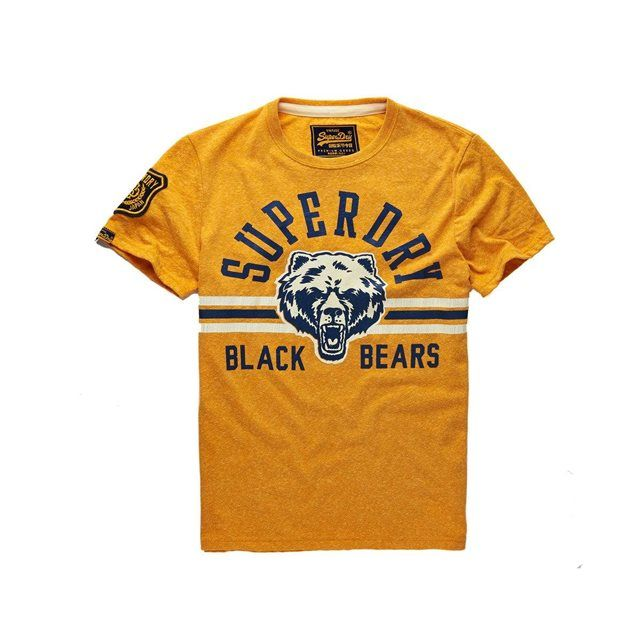 T-Shirt Black Bears col rond SUPERDRY