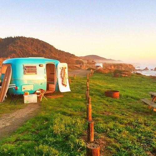 """1972 """"Blue Boler"""" The Happier Camper • Los Angeles Rentals"""