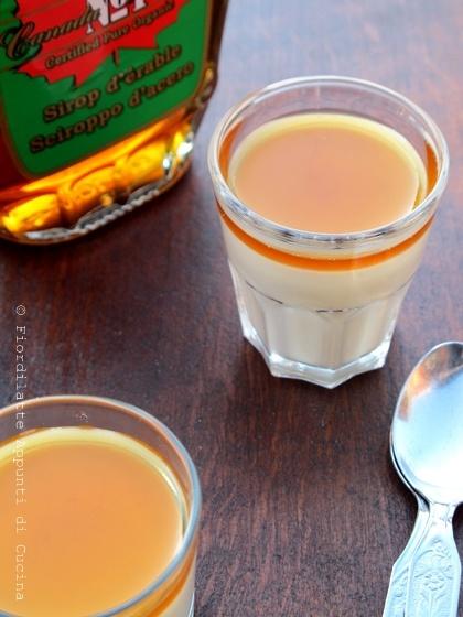 Maple Syrup panna cotta - Panna cotta allo sciroppo d'acero // Recipe on http://fiordilatte-appuntidicucina.blogspot.it/2013/01/panna-cotta-allo-sciroppo-dacero-e-4.html